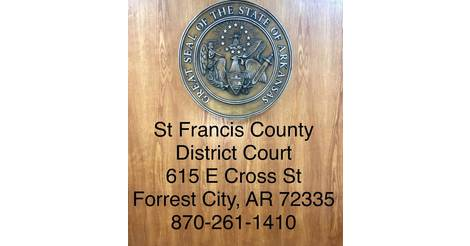 District Court - St  Francis County Sheriff AR